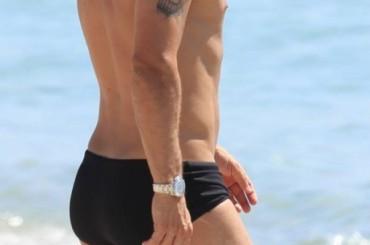 Slip nero da Miami per Francesco Totti