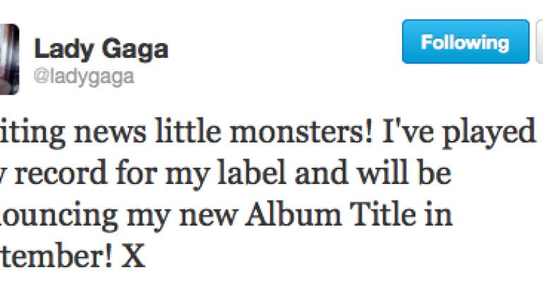 Lady Gaga a sorpresa: a SETTEMBRE il titolo del mio nuovo album
