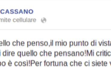 Ci puliamo il CULO con le FINTE scuse di Antonio Cassano