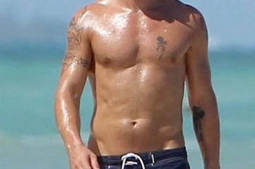 Colin Farrell al mare