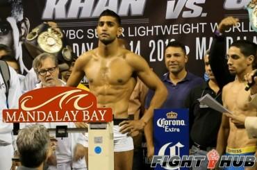 Amir Khan di nuovo in mutande