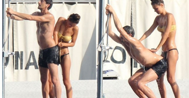 Adrien Brody a tinte porno in barca