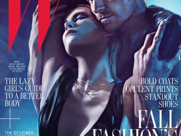MICHAEL FASSBENDER e CHARLIZE THERON fetish per W Magazine