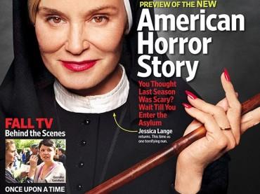 American Horror Story 2: Jessica Lange versione SUORA su Entertainment Weekly