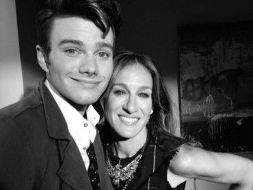 Glee 4: prima foto dal set per Sarah Jessica Parker