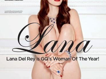 Lana Del Rey (NUDA) donna dell'anno per GQ British