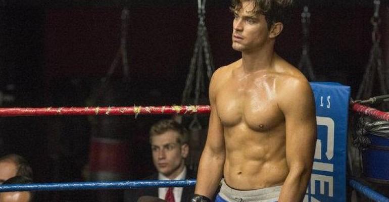 Matt Bomer scalda i muscoli in White Collar