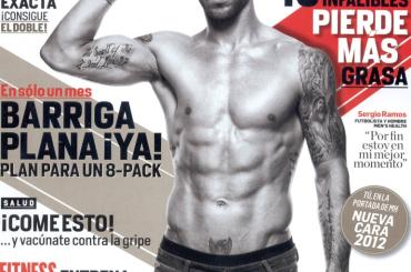Sergio Ramos in slip su Men's Health – foto e video del backstage