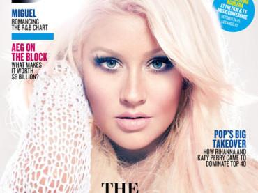 Christina Aguilera shock su Billboard: mi obbligavano ad essere magra