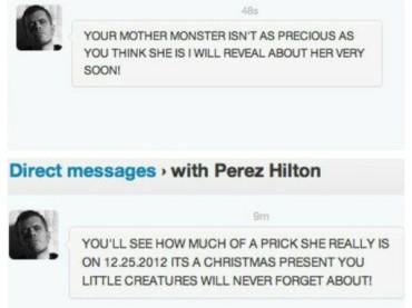 Perez Hilton vs. Lady Gaga: a NATALE arriva la bomba?