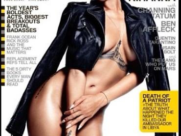 Rihanna nuda sulla cover di GQ