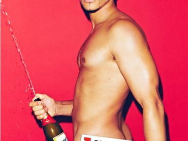 Louis Smith nudo per Heat magazine
