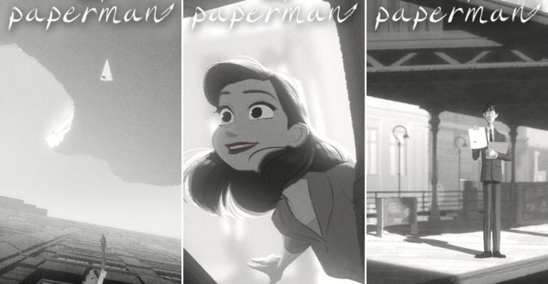 The Paperman: ecco il corto animato dell'anno