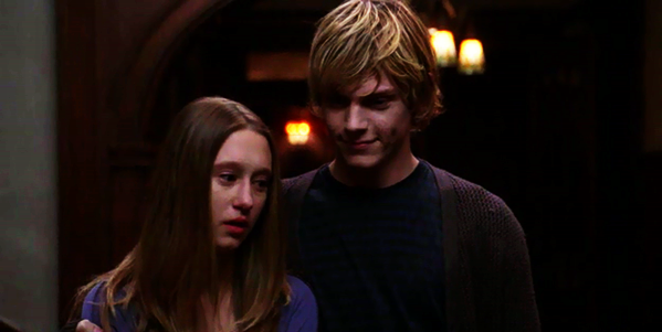 Tate evan peters and violet taissa farmiga pictures to pin on