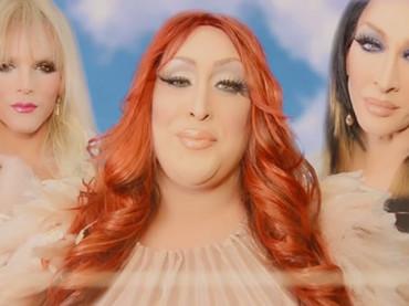 Le drag Willam, Detox e Vicky Vox con Boy Is A Bottom