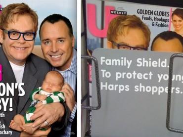 Elton John padre per la seconda volta