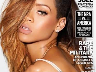"""Rihanna su Rolling Stone: """"se stare con Chris Brown è un errore, sarà un mio errore"""""""