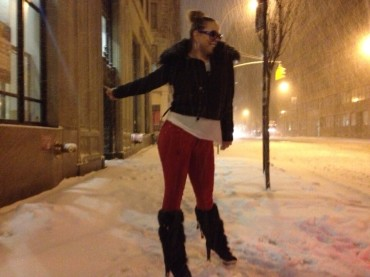 New York sotto la neve e Mariah Carey impazzisce su Twitter