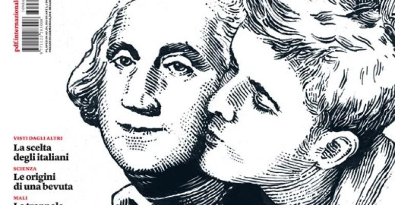 Copertina gay per l'INTERNAZIONALE