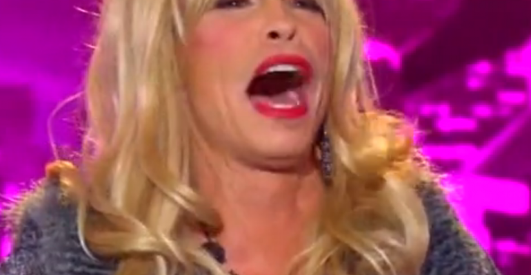 "Steven Tyler drag queen per ""American Idol"""