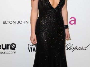 Britney Spears castana e gnocca al Party degli Oscar