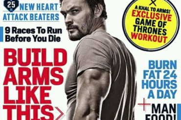 Jason Momoa roccioso su Men's Health