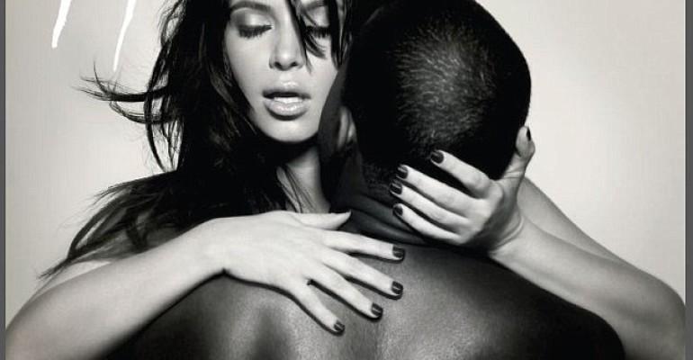 Kim Kardashian, Kanye West e la delicatissima cover de  L'Officiel Hommes