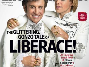 Behind the Candelabra: Michael Douglas e Matt Damon gay su Entertaintment Weekly