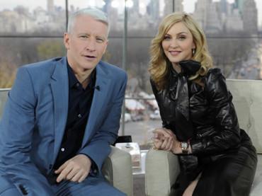 GLAAD 2013: Madonna premierà Anderson Cooper