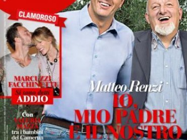 Matteo Renzi goes to Amici di Maria