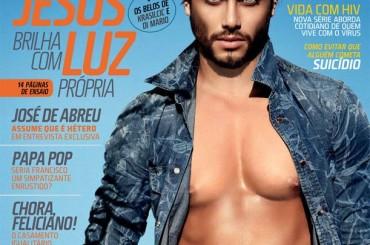 Jesus Luz fa il figo per Junior Magazine