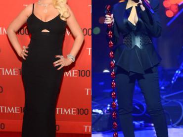 Christina Aguilera in forma smagliante al Gala Time 100