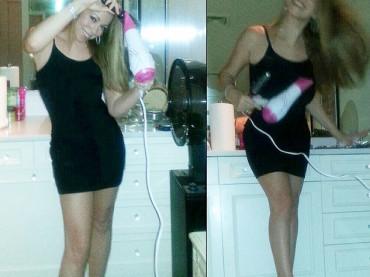 Mariah Carey se la spassa con il phon su Twitter