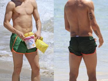 Fernando Torres in costume ad Ibiza