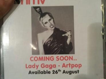 Artpop di Lady Gaga: in vendita dal 26 agosto?