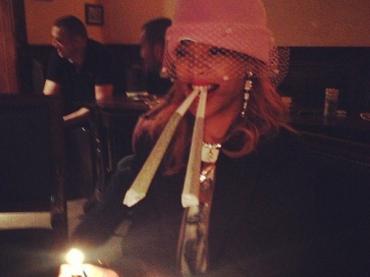 Rihanna e le supercanne ad Amsterdam – foto