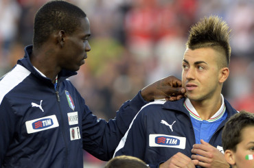 Mario Balotelli, Stephan El Shaarawy e il pizzicotto d'ammmmore