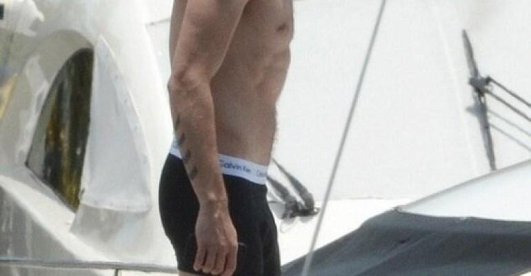 Liam Payne degli One Direction in mutande