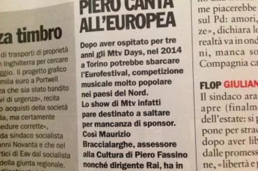 L'Eurovision 2014 a Torino?