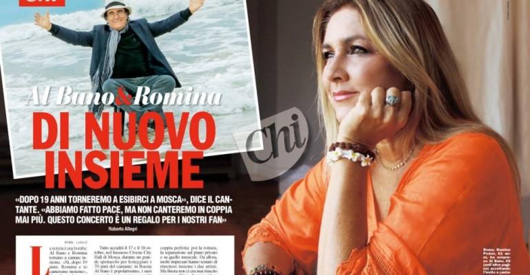 Albano e Romina di nuovo insieme – abbiamo fatto pace (dice lui)