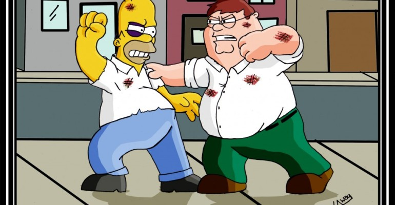 """Griffin e Simpson INSIEME in un episodio – arriva """"The Guy Simpson"""""""