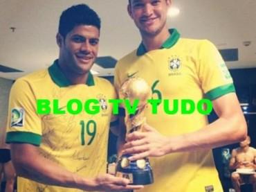 FIFA Confederations Cup 2013: Brasile campione con  Diego Cavalieri nudo negli spogliatoi – foto