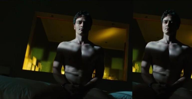 James McAvoy nudo e di culo in Trance – le foto