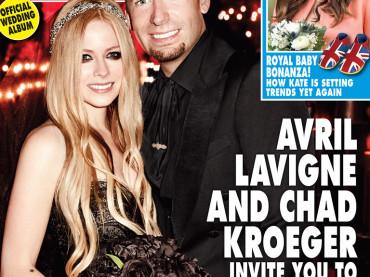Chad Kroeger, Avril Lavigne e la cover matrimoniale dell'anno