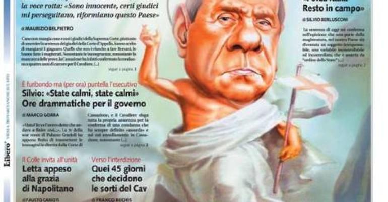 Oggi siamo tutti carabinieri: bye bye Silvio – CONDANNATO