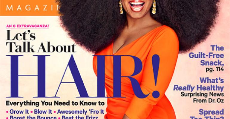 Oprah Winfrey PAZZESCA sulla cover di O