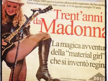 Anche Repubblica celebra i 30 anni di Madonna: ma Ernesto Assante va giù duro