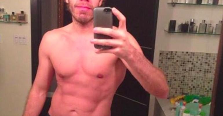 Perez Hilton in mutande su Guys With iPhone