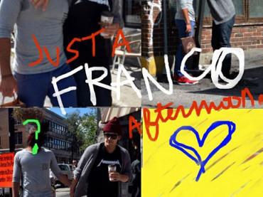 James Franco gay su Instagram