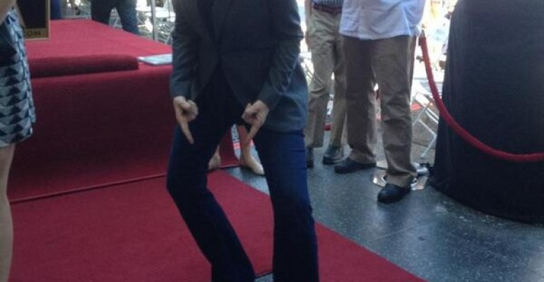Walk of Fame per Jane Lynch, Stella di GLEE